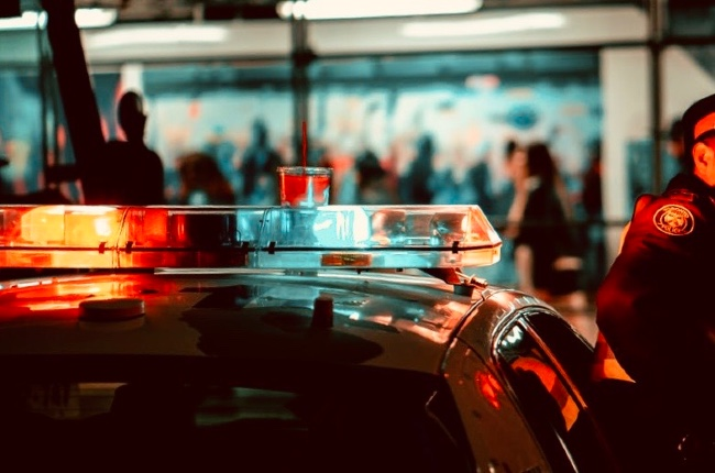 Tras una persecución de película la policía de Southampton arresta a un hombre que buscaba por el robo de un vehículo