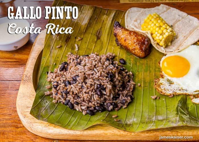 Viaje gastronómico por el Continente Américano: Gallo Pinto Costarricense