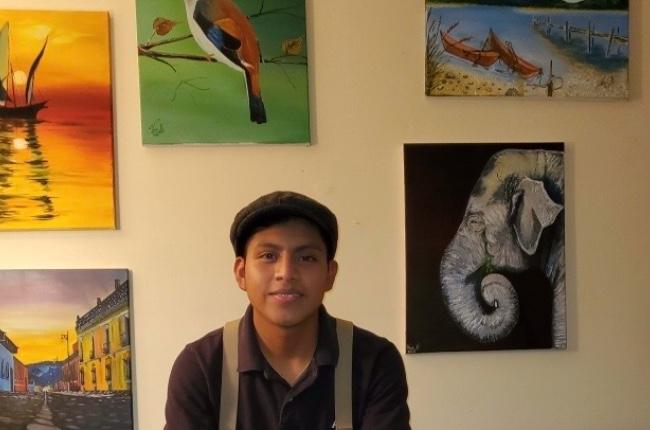 De Guatemala a Riverhead: Una joven promesa de la pintura en busca de apoyo