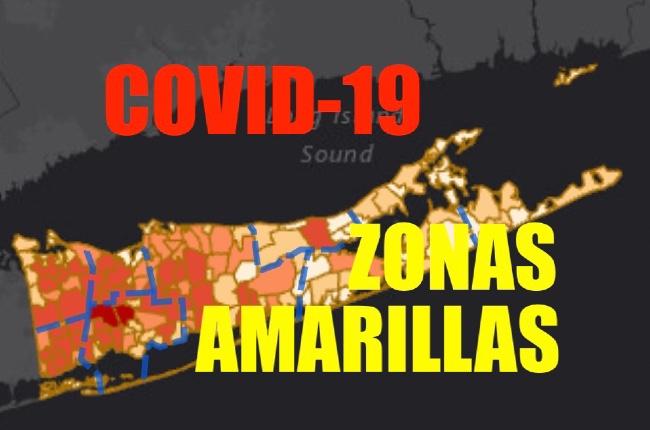 """Partes del condado de Suffolk van en camino a convertirse en """"zonas amarillas"""" dice Gobernador Cuomo"""