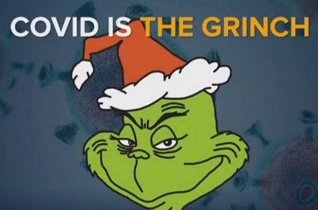 """El COVID-19 es """"el Grinch"""" del 2020"""