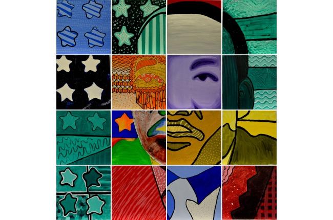 Estudiantes del East End participan en la creación de mosaicos de Martin Luther King para celebrar su vida y recordar su legado