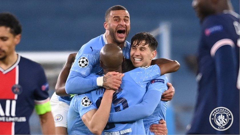 Manchester City llega a la final de la Champions League por primera vez en más de un siglo