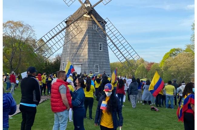 Colombianos regados por el mundo se unen este sábado en manifestaciones simultáneas de apoyo a la crisis de su país; En nuestra área la protesta será en Southampton