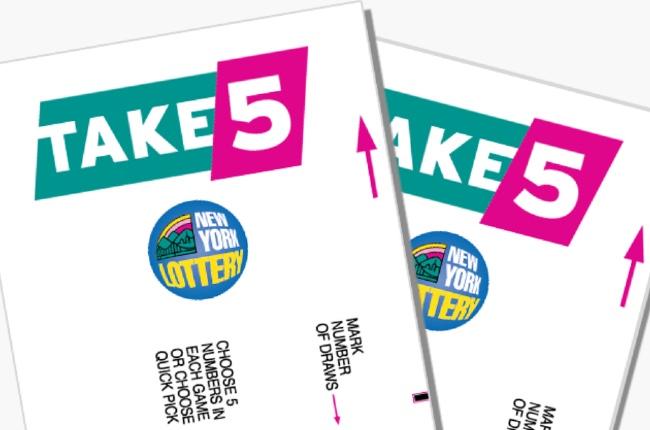 """Dos boletos ganadores del """"Take 5"""" fueron vendidos en Mattituck"""