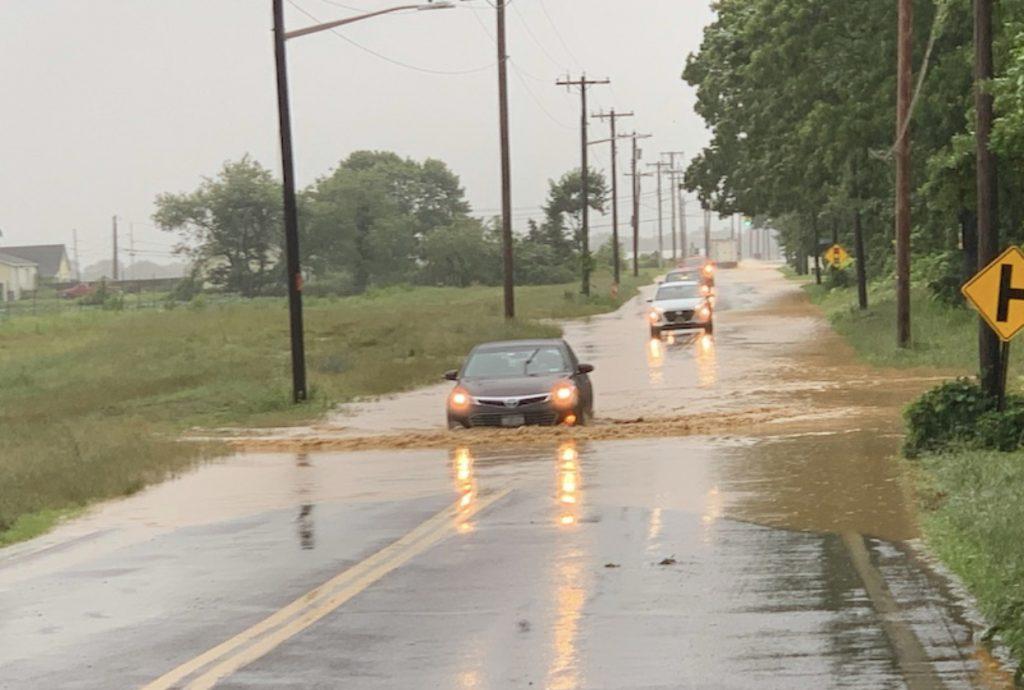 Se emite aviso de inundaciones para la mañana de hoy en el East End de Long Island